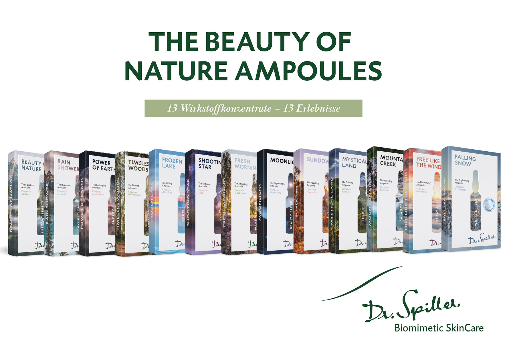 NEU - The Beauty of Nature Ampoules